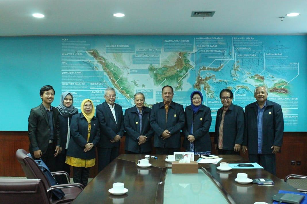Audiensi  dengan Menteri Riset, Teknologi dan Pendidikan Tinggi
