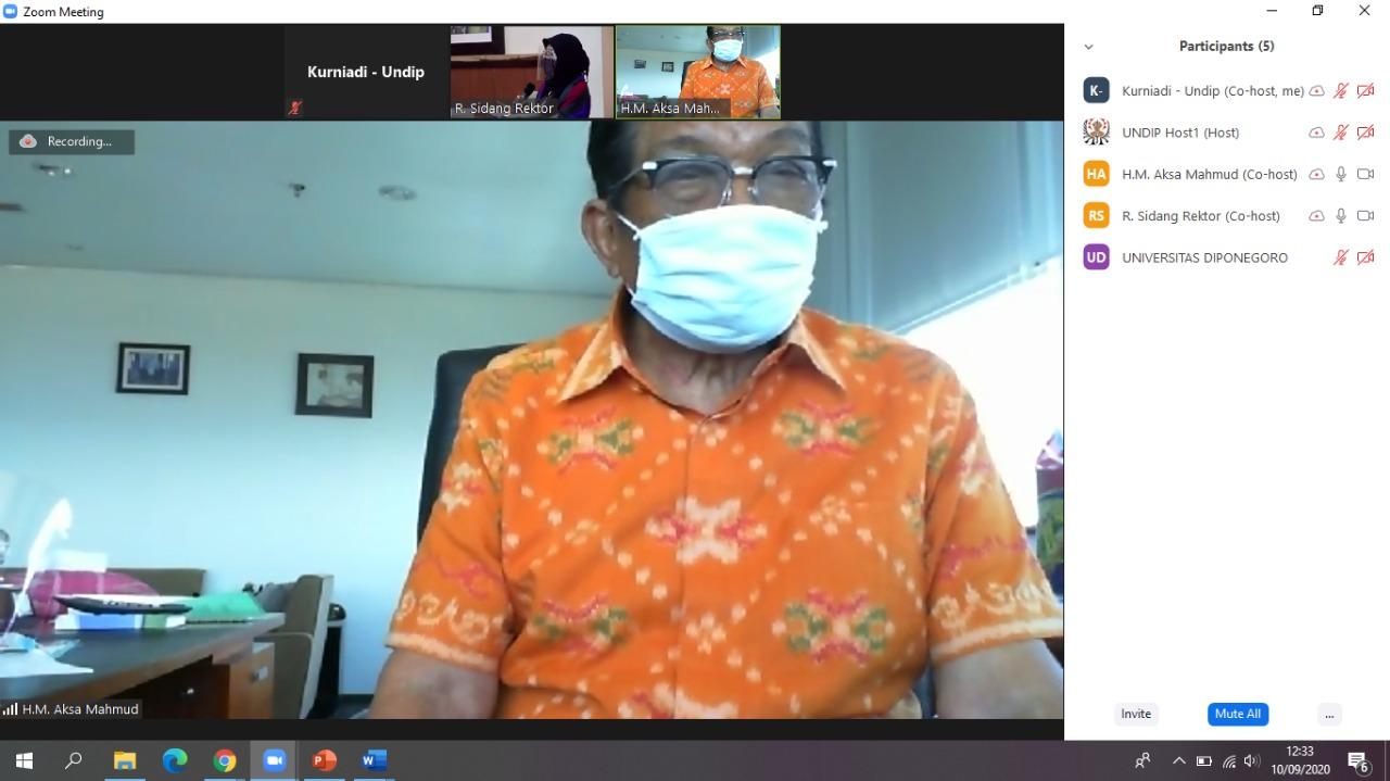 "Focus Group Discussion MWA""Penyusunan Keputusan Majelis Wali Amanat Universitas Diponegoro Tentang Rekomendasi Kebijakan Master Plan Kampus Undip Pleburan"