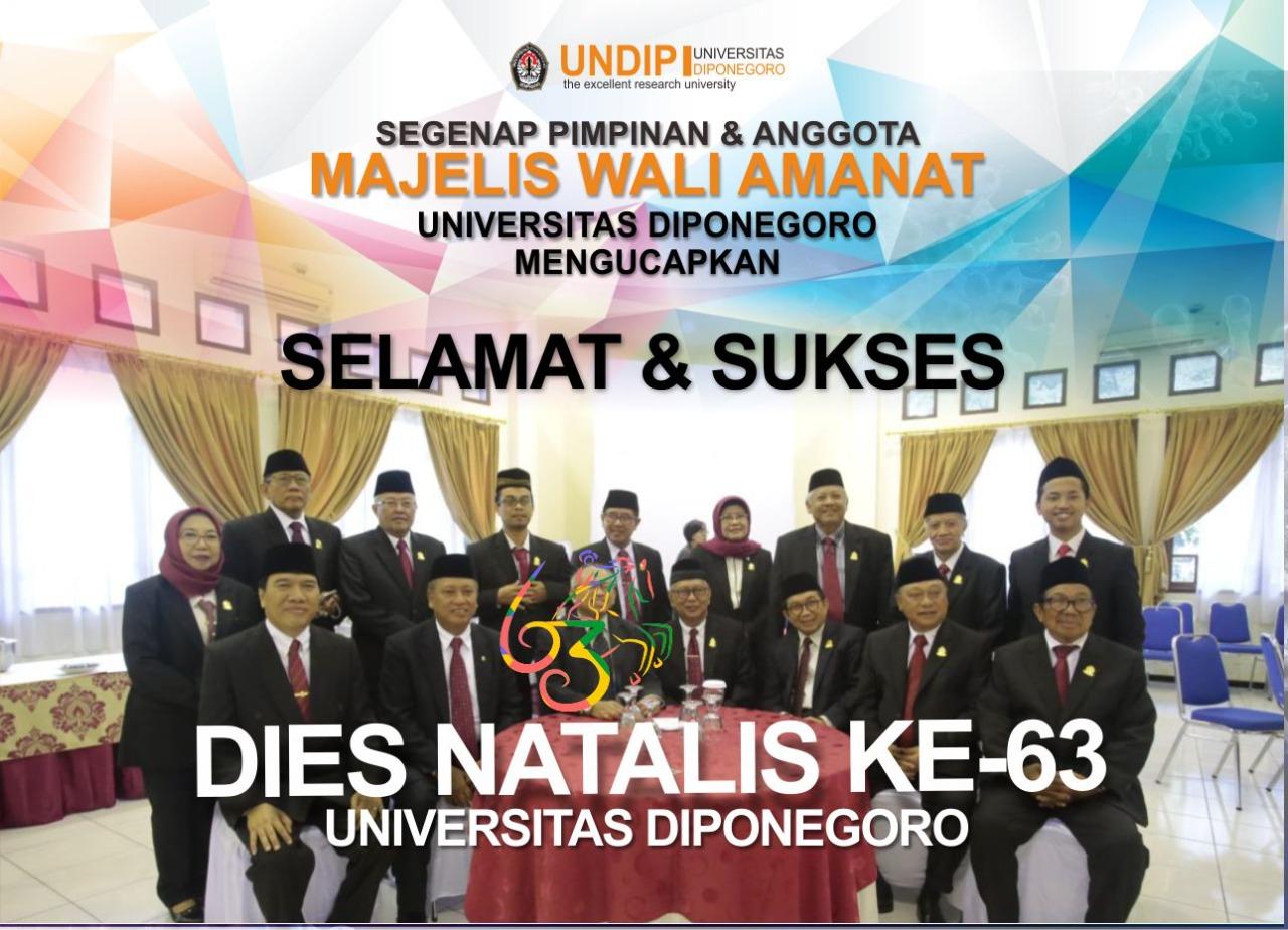 DIES NATALIES UNDIP KE – 63