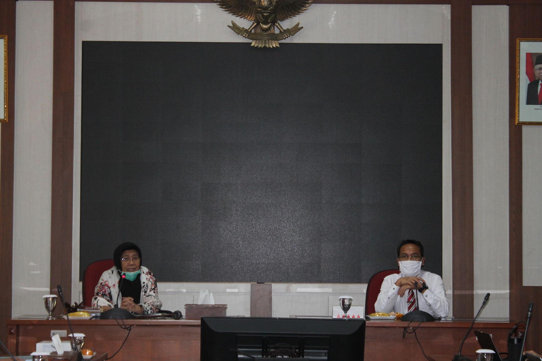Koordinasi MWA dan Wakil Rektor Akademik dan Kemahasiswaan